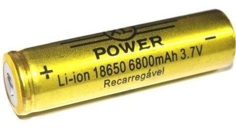 kit 2 baterias 18650 gold 6800mah li ion frete grátis