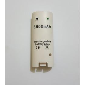 Kit 2 Baterias 3600mah Recarregável Estendida Branco P/ Wii