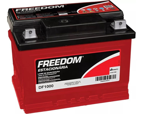 kit 2 baterias estacionaria freedom df1000 12v 70ah nobreak