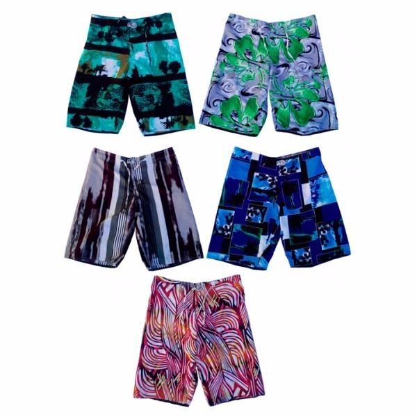 Kit 2 Bermudas Shorts Tactel Infantil E Juvenil Menino. - R  51 5e1aa207f0b