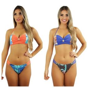 fb1634899 Biquinis Tomara Quue Caia Na Moda - Maiôs e Biquinis Biquíni Verde com o  Melhores Preços no Mercado Livre Brasil