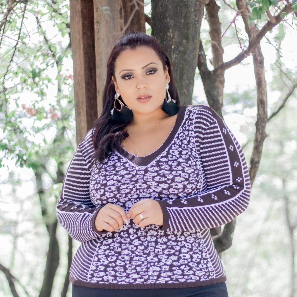 482b6dbe0030 Kit 2 Blusa De Lã Feminina Plus Size - R$ 77,00 em Mercado Livre