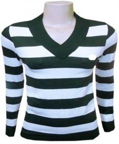 bc4819e84f Kit 7 Blusas Frio Feminina Casacos Listrado Suéter Lã Trico