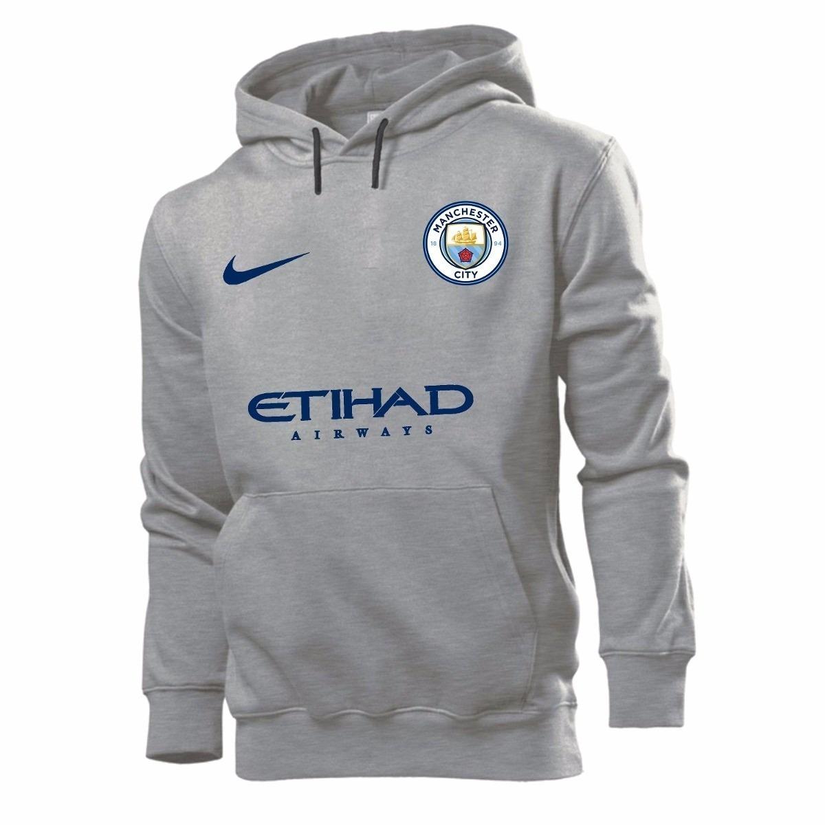 Kit 2 Blusas Moletom Chelsea + Manchester City 2018 Moleton - R  139 ... 502edb3d0a5da