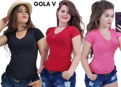 kit 2 blusinhas roupas de qualidade grade p m g gg barato