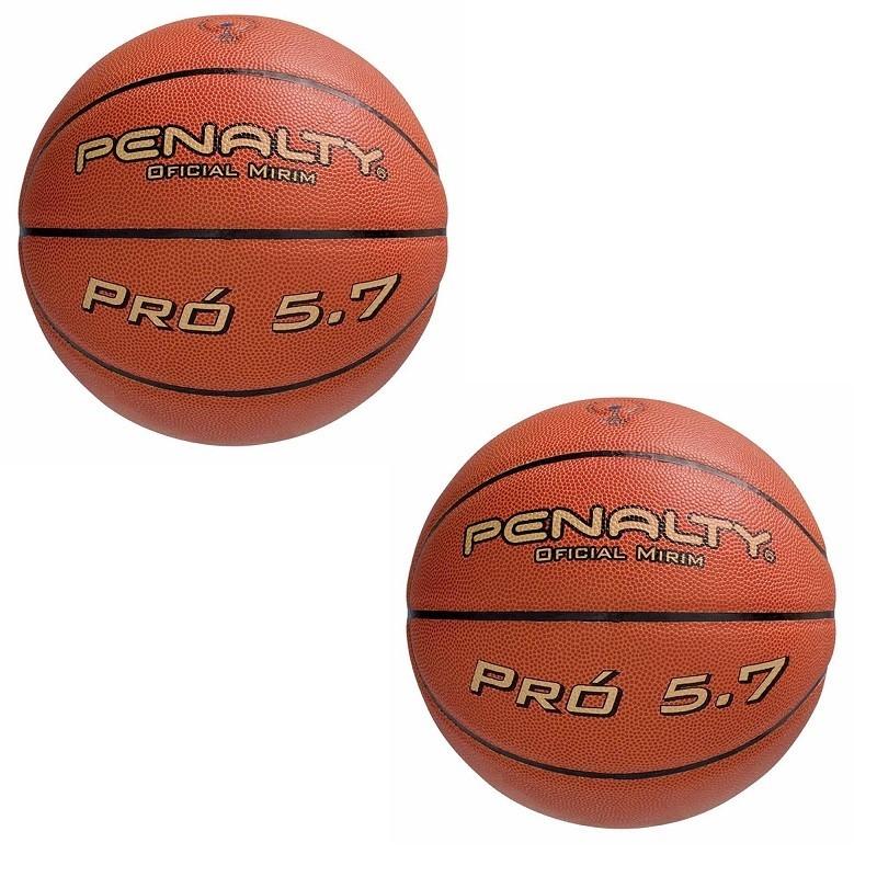 c0c8545ed kit 2 bolas de basquete penalty pró 5.7 oficial mirim. Carregando zoom.