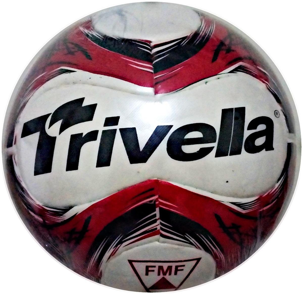 8fcdf769ac Kit 2 Bolas De Campo 100% Pu Trivella - Brasil Gold - R  119