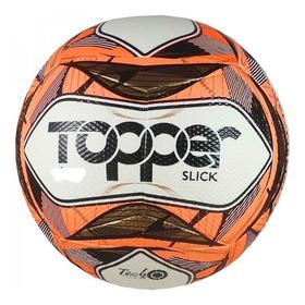 Kit 2 Bolas De Futsal  Topper Oficial Slick  + 1 Bomba De Ar