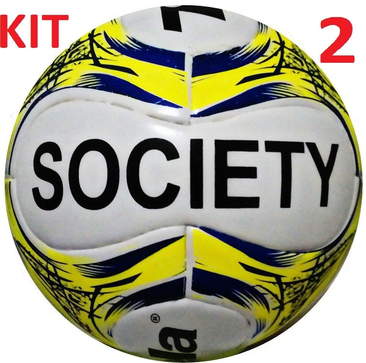 Kit 2 Bolas De Society Trivella Original - Brasil Gold - R  116 341fb680fc37e