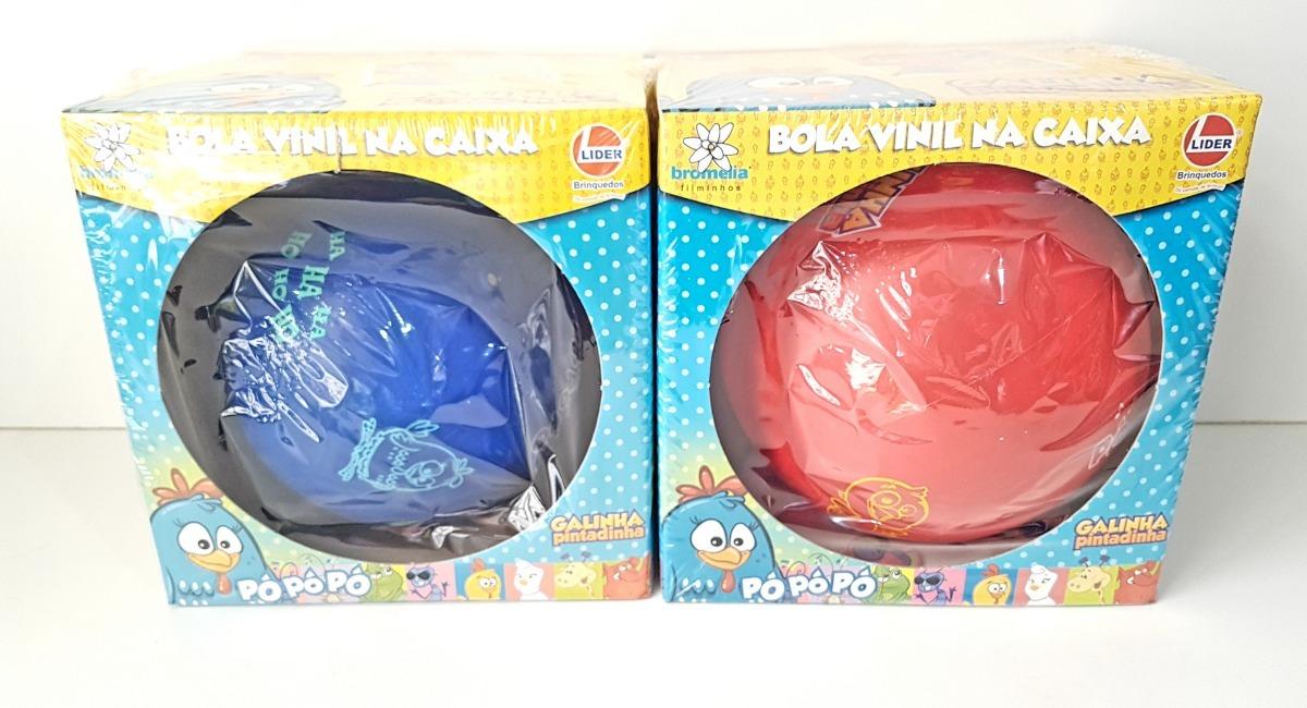 99a28e318c kit 2 bolas vinil galinha pintadinha na caixa pronta entrega. Carregando  zoom.