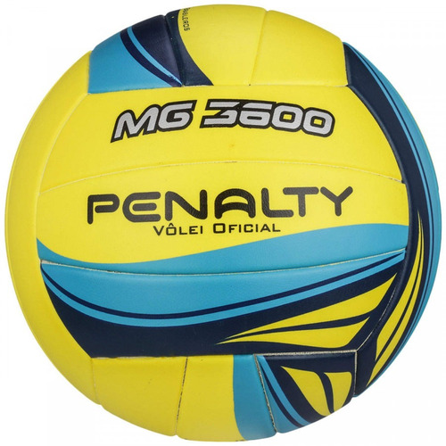 kit 2 bolas volley penalty mg 3600 - oficial - original