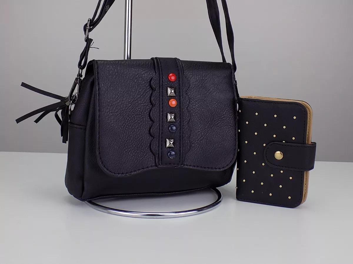 5e003dfff kit 2 bolsa feminina 2 carteira 1 relógio dourado top f g. Carregando zoom.