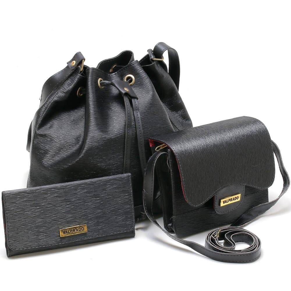 dea3ec1d4 Kit 2 Bolsa Feminina + Carteira - R$ 122,00 em Mercado Livre
