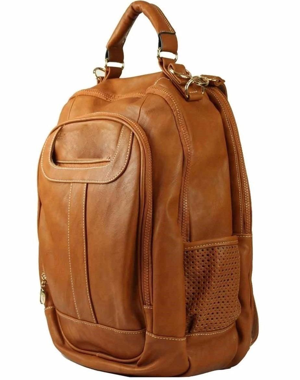 204ff295b kit 2 bolsa mochila feminina couro sintético notebook escola. Carregando  zoom.