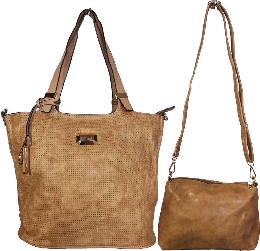 bb49a8f0c kit 2 bolsas femininas couro ecologico alta qualidade moda. Carregando zoom.