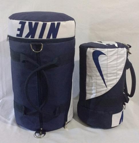 kit 2 bolsas nike esportiva academia fitness viagem promoção