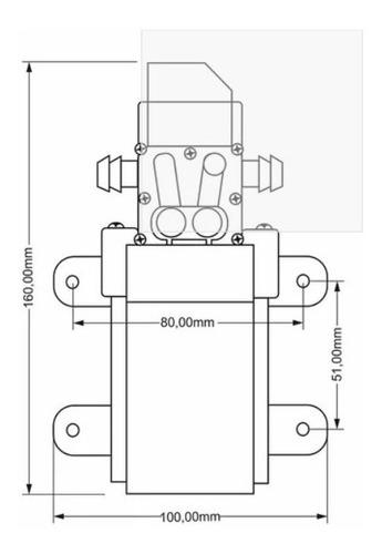 kit 2 bomba 12v 110psi limpeza ar condicionado split