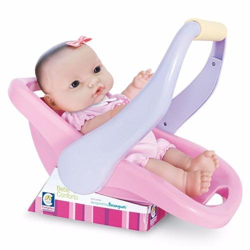 kit 2 boneca bebê conforto cotiplás super promoção