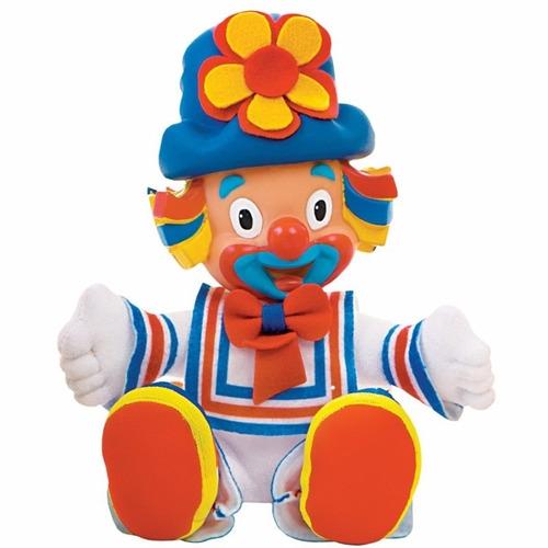 kit 2 bonecos: amiguinhos patati patatá *19cms da multibrink
