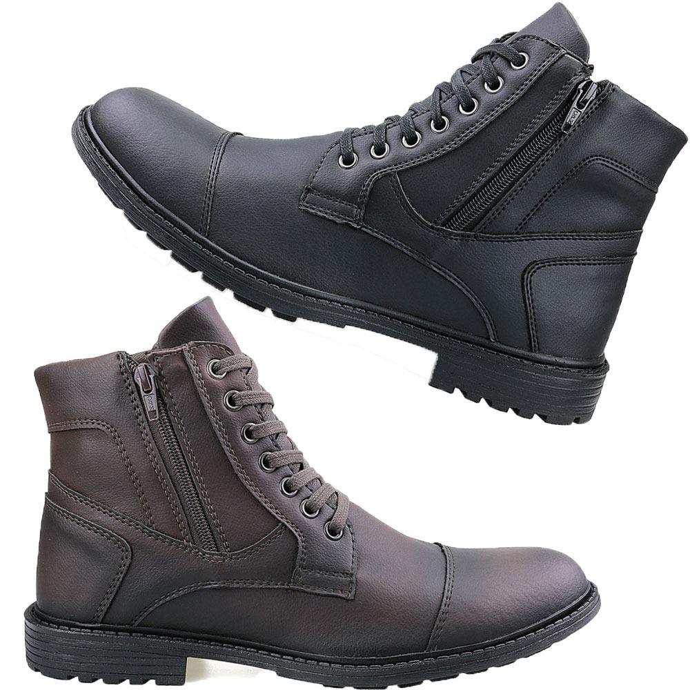 66aa46e74c kit 2 botas coturno casual masculino barato preço de fabrica. Carregando  zoom.