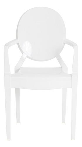 kit 2 cadeiras cozinha jantar policarbonato