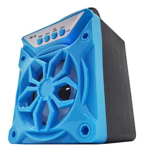 kit 2 caixa de som bluetooth fm p2 mp3 cartão pen drive