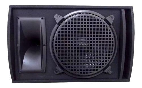 kit 2 caixa som retorno top palco passiva 270w rms plug p10