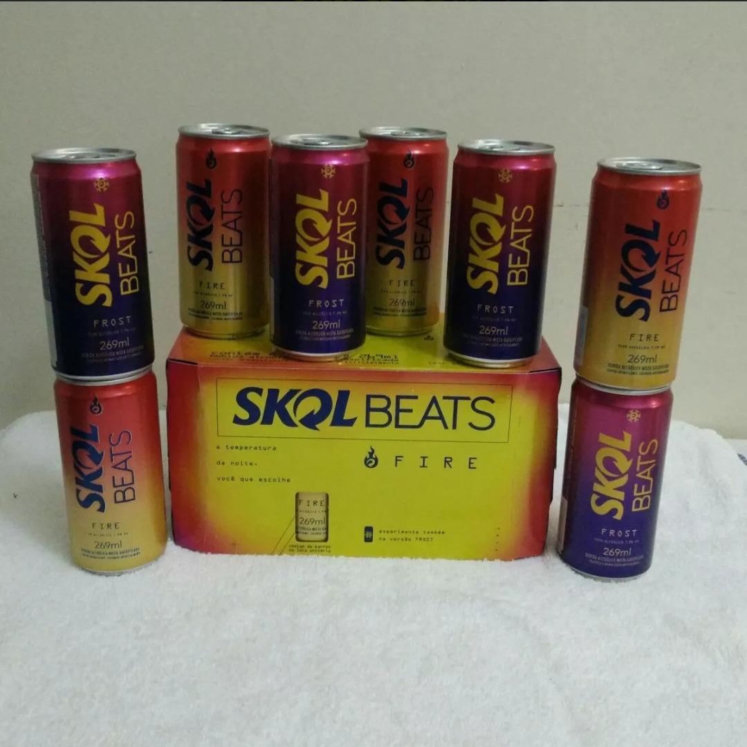 Kit caixas com latas skol beats fire e frost jpg 1080x1080 Skol beats fire 36dda1f43bb