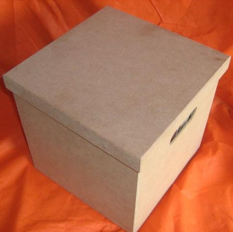 kit 2 caixas para disco / lp / vinil