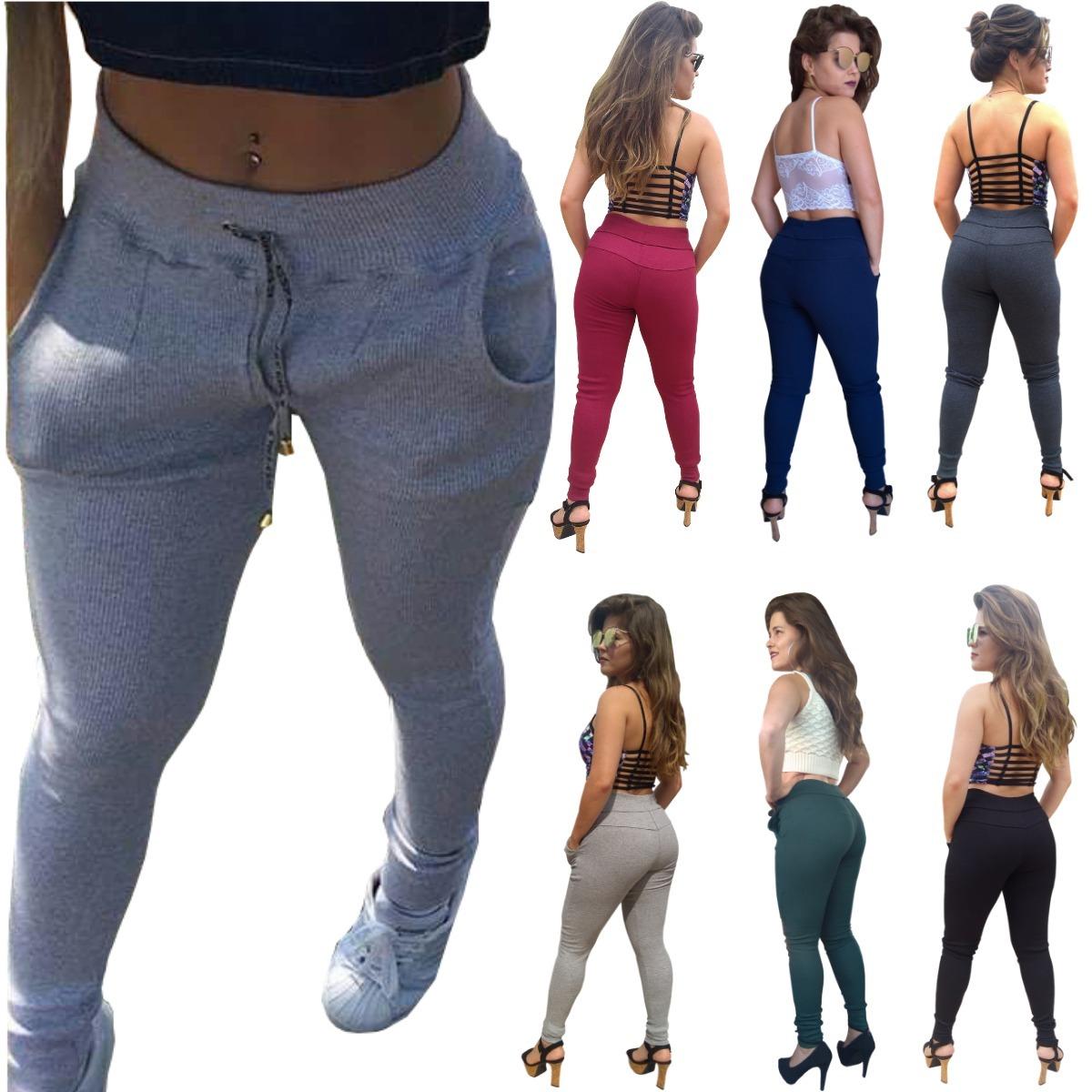 44a76ff2d kit 2 calça feminina justa skinny cintura alta promoção 2019. Carregando  zoom.