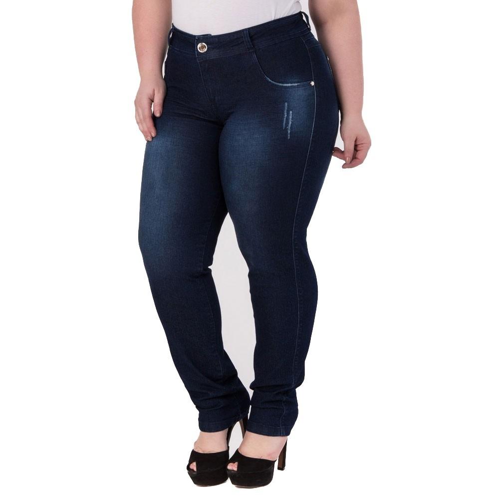 a68adfcb6 kit 2 calça jeans feminina cintura alta com lycra promoção. Carregando zoom.