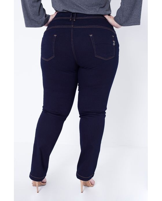 e010023117 Kit 2 Calça Jeans Feminina Cintura Plus Size Atacado C Lycra - R ...