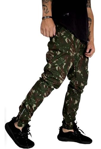 kit 2 calça jogger camuflada masculina vcstilo