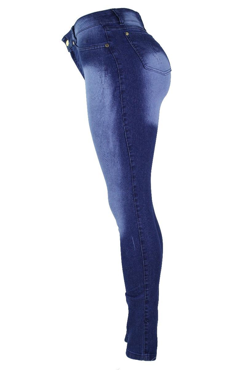 c00b1e7250286 kit 2 calças jeans feminina flare skinny cintura alta h pant. Carregando  zoom.