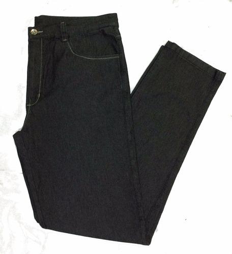 kit 2 calças jeans masculinas plus size pequeno defeito