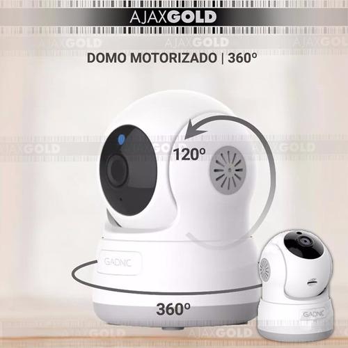 kit 2 camaras ip p2p robotizada inalambrica wifi nocturna hd