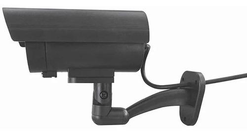 kit 2 camaras vigilancia simulacion tipo bala 180º seguridad
