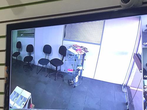 kit 2 cameras 720p ahd infra dvr 4 canais intelbras ahd mhdx