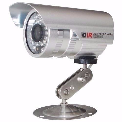 kit 2 cameras infravermelho ccd 1000 linhas dvr stand alone