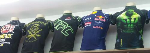 kit 2 camisa camiseta compressão atacado batman venum tnt