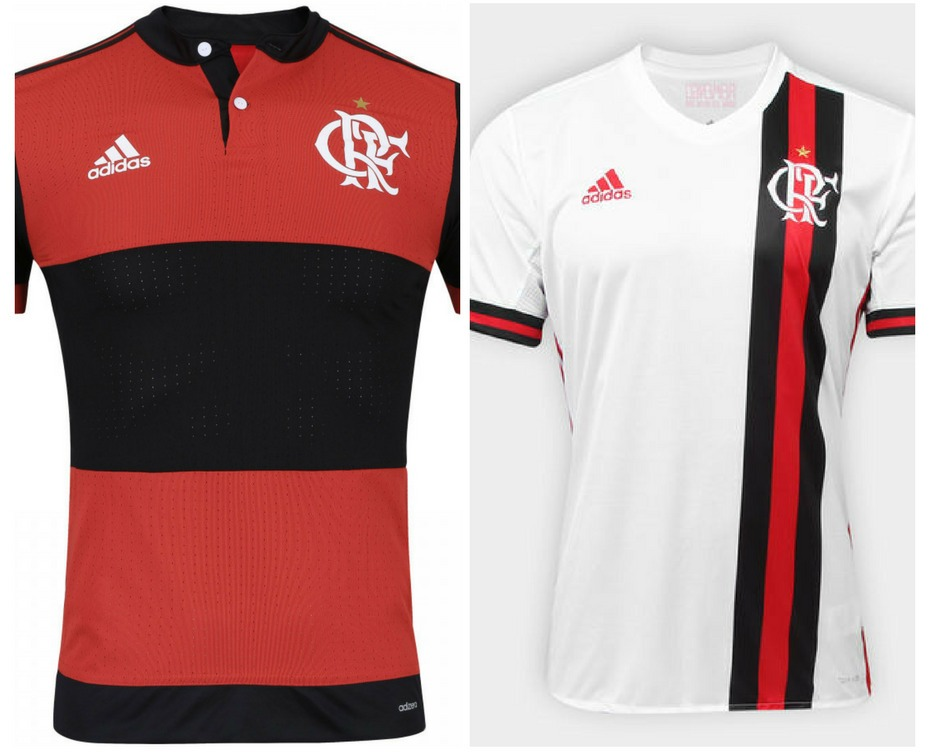 c4c5000b2b kit 2 camisa flamengo oficial original adidas 17 18. Carregando zoom.