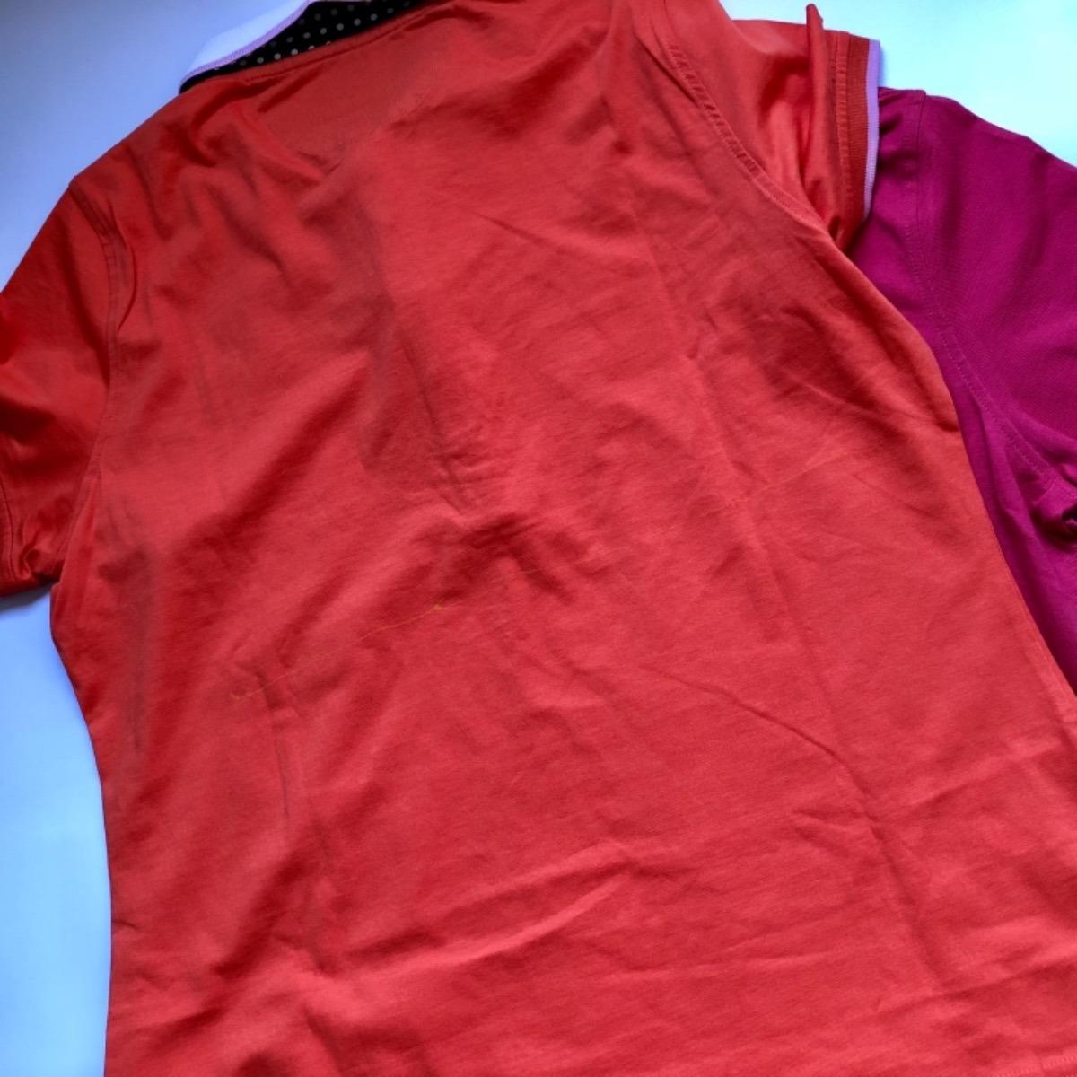 e6fac63cfb kit 2 camisa polo feminina dudalina original pequeno defeito. Carregando  zoom.