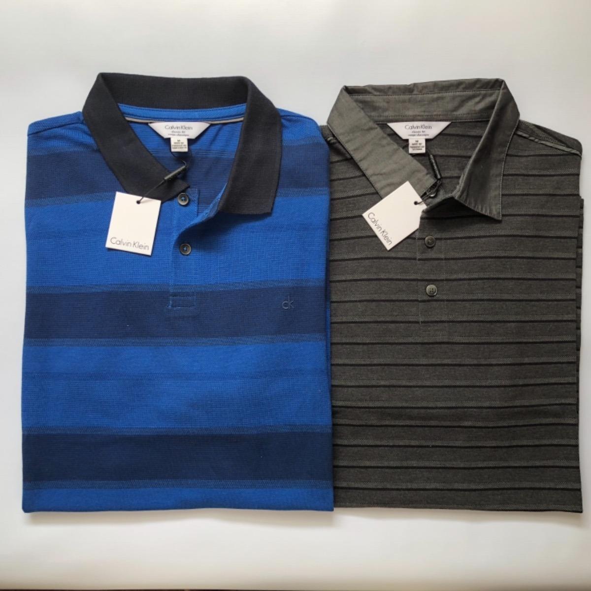 98a3fae7f kit 2 camisa polo masculina calvin klein original importada. Carregando  zoom.