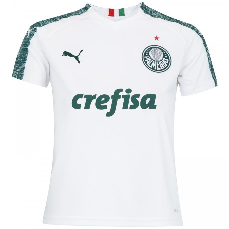 62eda4b14fabf Kit 2 Camisa Puma Palmeiras Verdão Sócio Torcedor Oferta - R  189