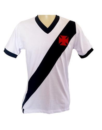 b97ae9a7b3 Kit 2 Camisa Retrô - Vasco Vg - Branca E Preta - R  99
