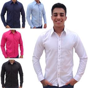 c3ac90f571 Camisa Social Top De Linha - Camisa Masculino no Mercado Livre Brasil