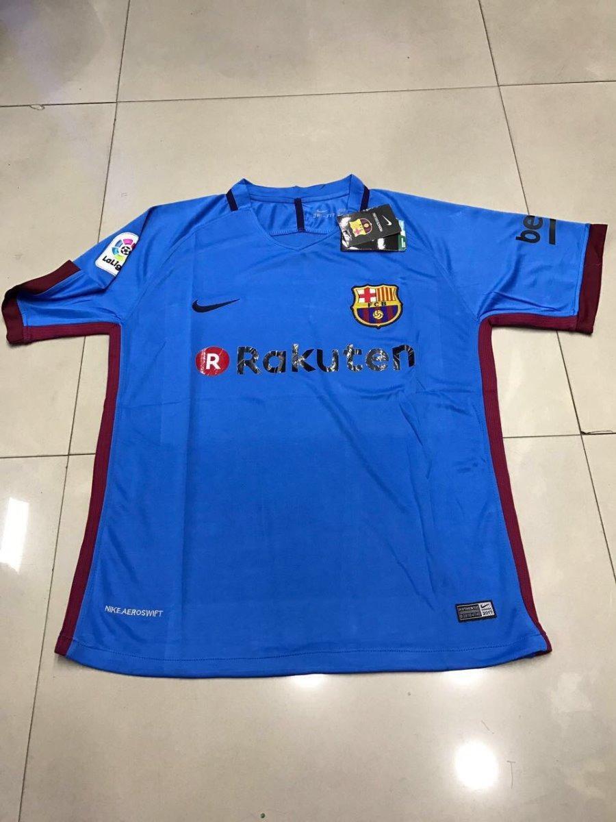 d168b32476ef9 Kit 2 Camisas Barcelona - Azul - R  179