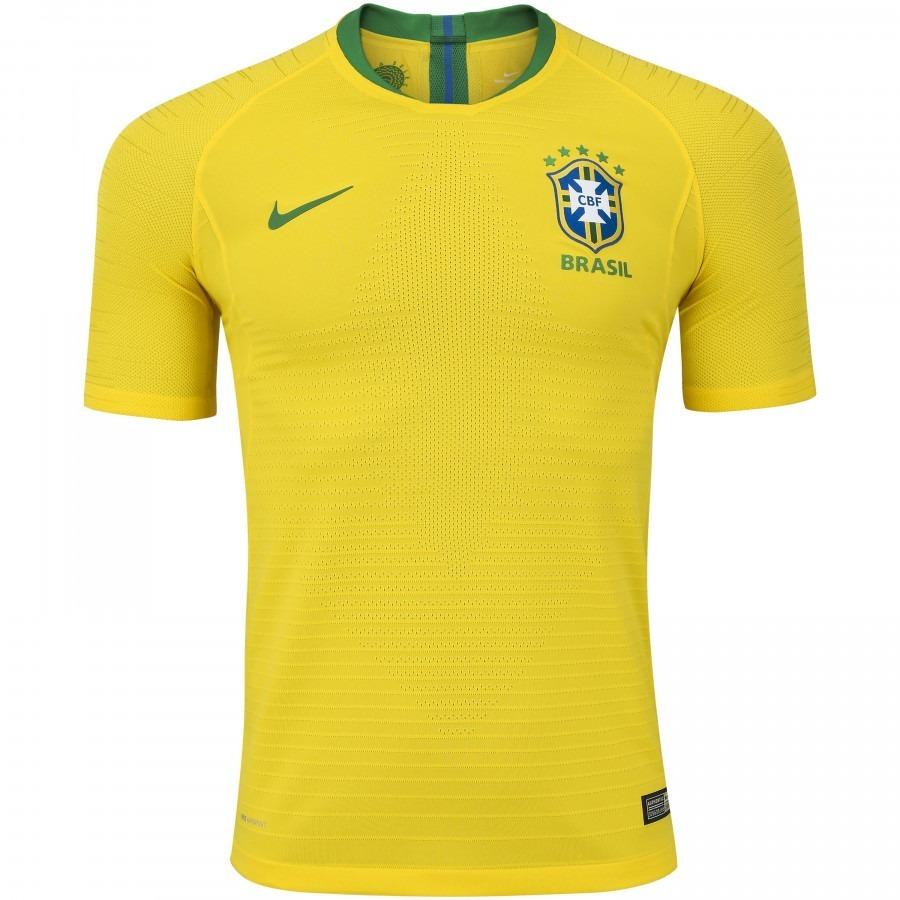 kit 2 camisas blusa seleção brasil modelo jogador 2018. Carregando zoom. 2219776271ecd