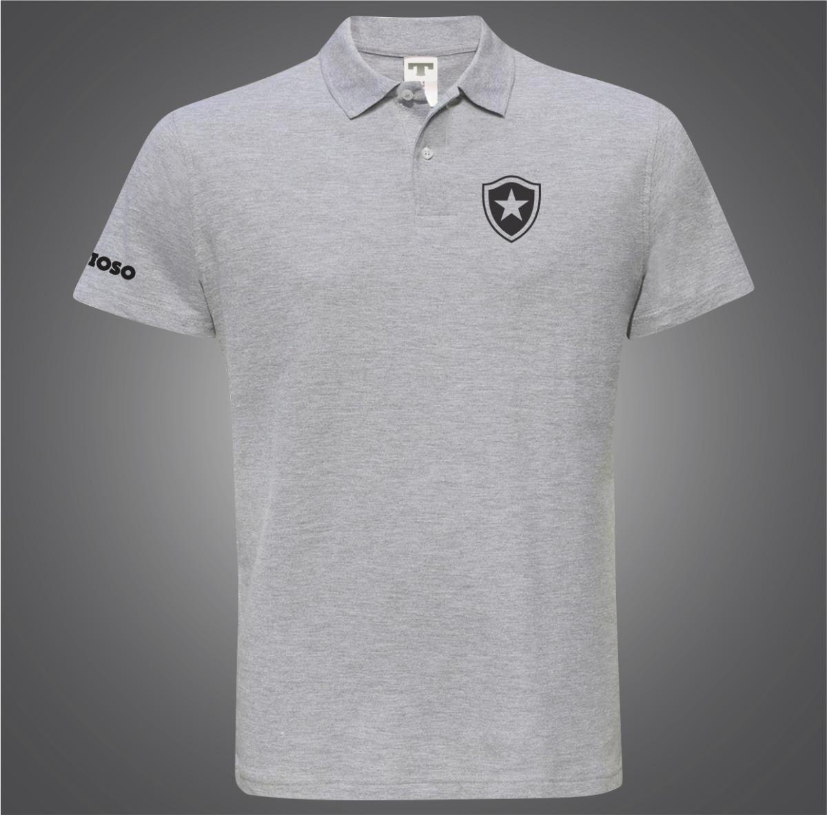 Kit 2 Camisas Botafogo Preto G 8ae5546996f5d
