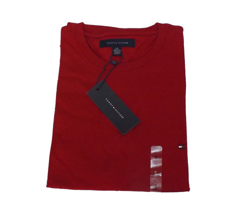 kit 2 camisas de malha lisa tommy hilfiger - original tommy